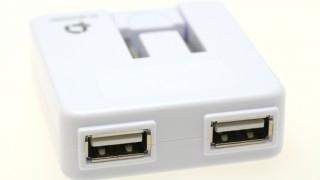 PLANEX 「充電万能」2ポートUSB充電器 PL-WUCHG01