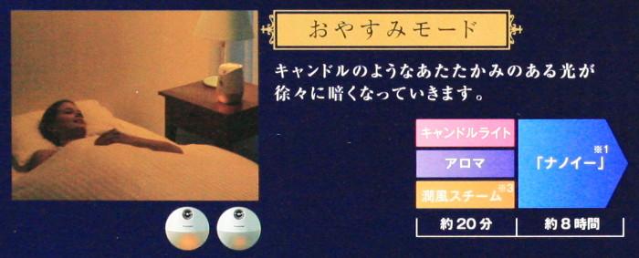 ナイトスチーマー ナノケア EH-SA46 Panasonic Beauty