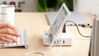 サンワが頑張ってる!スマホとパソコンの同時充電が可能な電源タップ(700-TAP018 TAP019 TAP020)