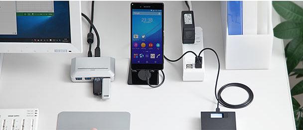 サンワダイレクト USB充電ポート付 電源タップ 700-TAP019