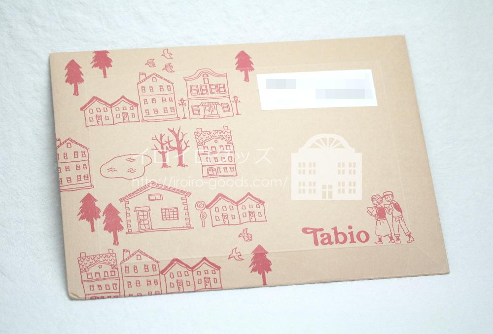 靴下専門店 Tabio (タビオ) レーシングランエアー5本指 レビュー クチコミ 梱包