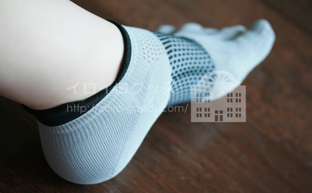 靴下専門店 Tabio (タビオ) レーシングランエアー5本指 レビュー クチコミ 足首の後ろは長め