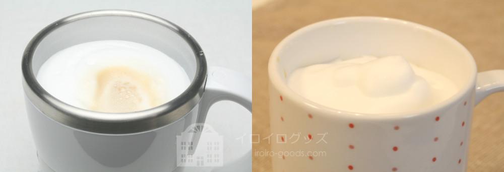 UCC 上島珈琲 ミルクカップフォーマー パンナホワイト MCF30W ふわふわ泡のカフェラテ